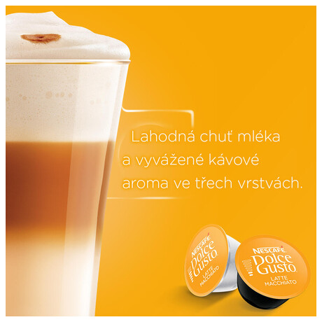 NESCAFÉ® Dolce Gusto® Latte Macchiato kávové kapsle 16ks (foto 2)