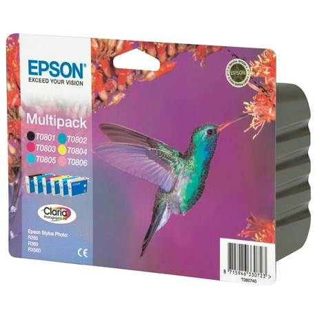 Epson, Claria Photographic Ink 6 COLOR MULTIPACK, pro Stylus Photo R265/285/360,RX560/585/685 (foto 1)