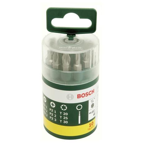 Sada Bosch 10 dílná šroubovacích bitů - Bosch 10dílná šroubovacích bitů (foto 2)