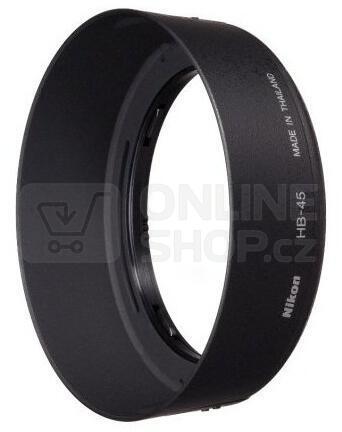 Sluneční clona Nikon HB-45 BAJONETOVÁ pro AF-S DX 18-55II/18-55VR