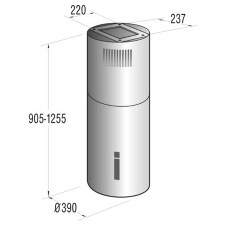 Odsavač par Gorenje IDR 4545 E