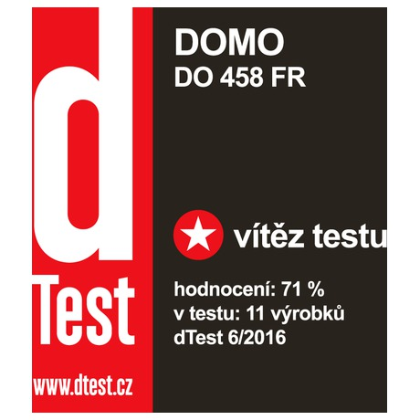 Fritéza celonerezová - DOMO DO458FR - dTest vítěz 2016 - DOMO DO458FR - dTest vítěz 2016 (foto 5)