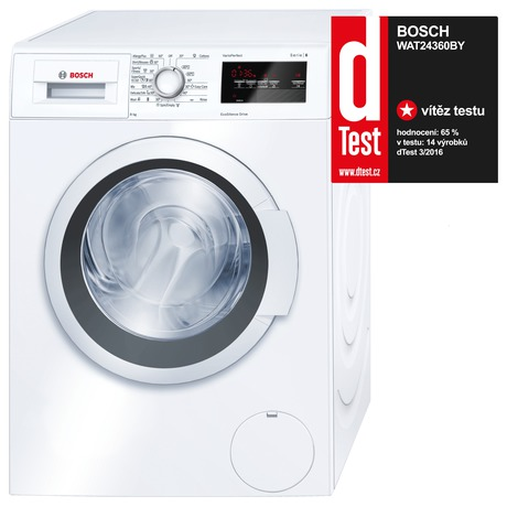 Bosch WAT24360BY + Sušička Bosch WTW87467CS (foto 1)