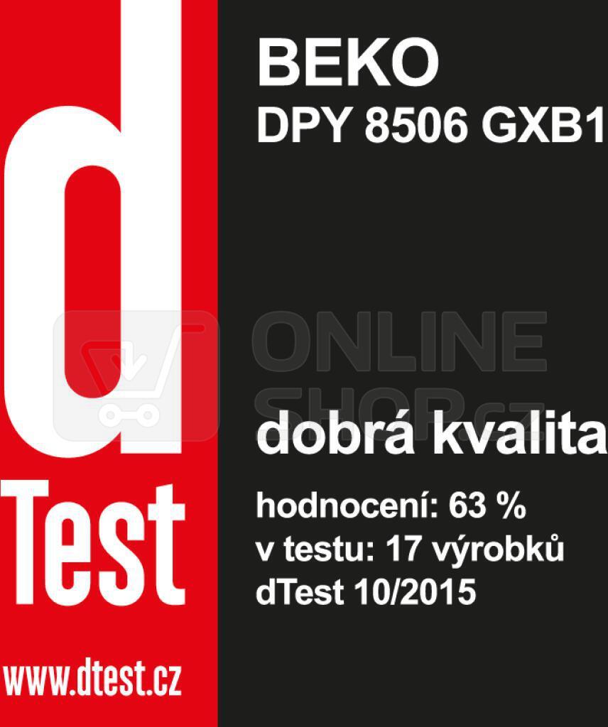 Sušička prádla BEKO DPY 8506 GXB1