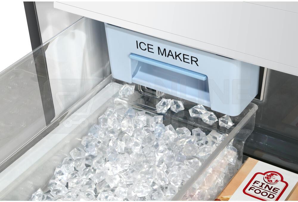 Americká chladnička Haier HB25 FSSAAA