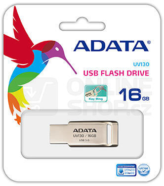 Flash USB ADATA UV130 32GB USB 2.0 - kovový