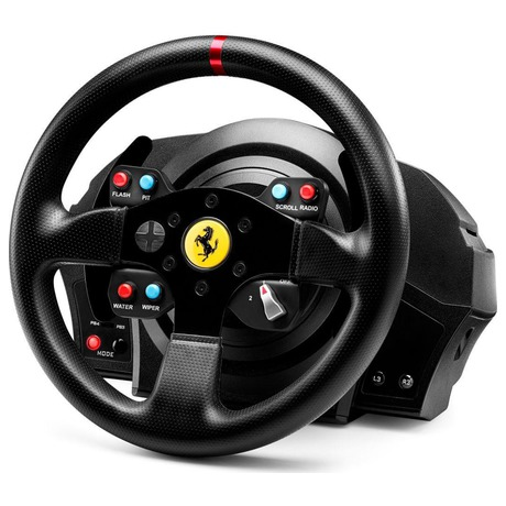 Volant Thrustmaster T300 Ferrari GTE pro PS3, PS4, PC + pedály