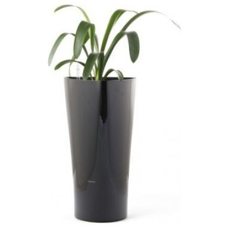 Samozavlažovací květináč G21 Trio mini černý 26 cm