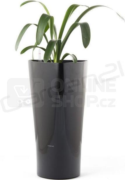 Samozavlažovací květináč G21 Trio černý 56.5 cm