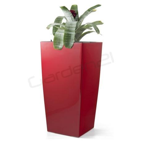 Samozavlažovací květináč G21 Linea červený 76 cm