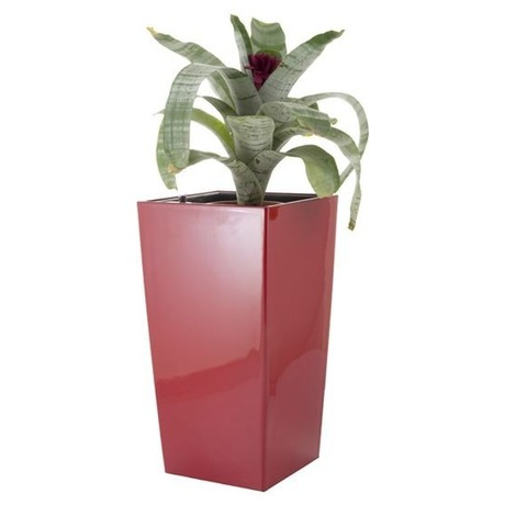 Samozavlažovací květináč G21 Linea small červený 55 cm