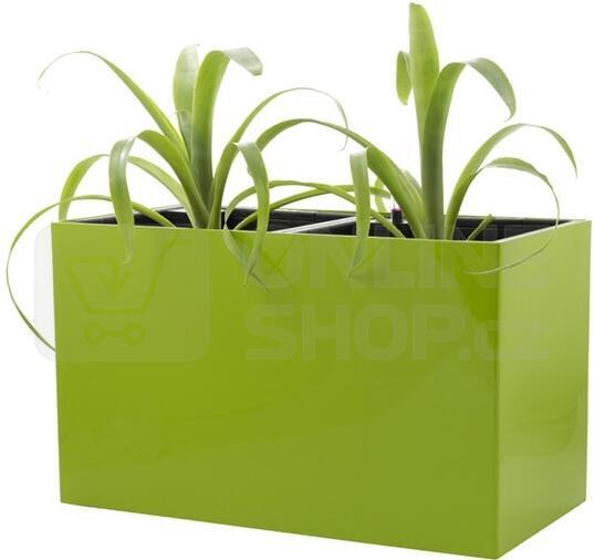 Samozavlažovací květináč G21 Combi zelený 56 cm