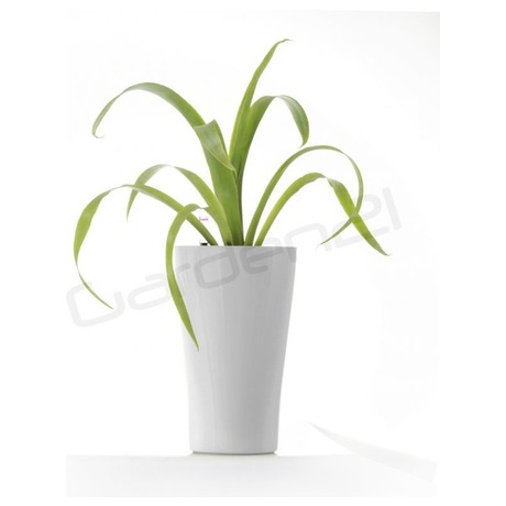 Samozavlažovací květináč G21 Trio mini bílý 26 cm