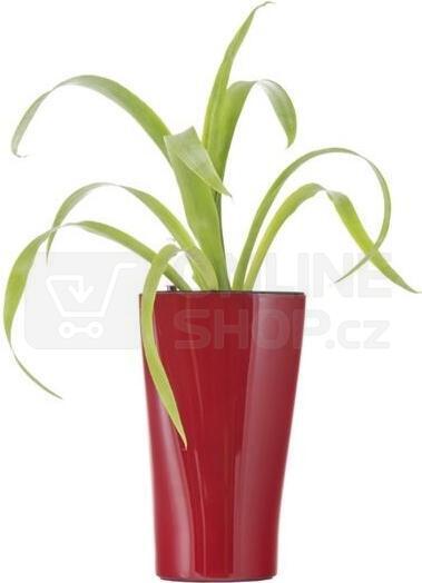 Samozavlažovací květináč G21 Trio mini červený 26 cm