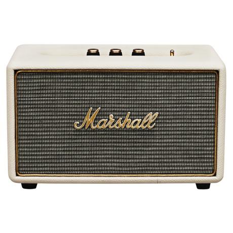 Přenosný reproduktor Marshall Bluetooth Acton, krémový - Marshall Acton Bluetooth, krémový (foto 1)