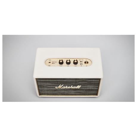 Přenosný reproduktor Marshall Bluetooth Acton, krémový - Marshall Acton Bluetooth, krémový (foto 4)