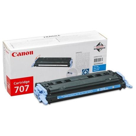 Toner Canon CRG-707C, 2K stran originální - modrý