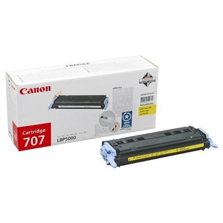 Toner Canon CRG-707Y, 2K stran originální - žlutý