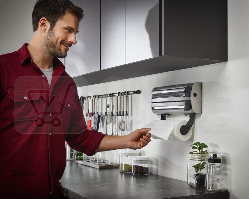 Držák kuchyňský Leifheit pro folie a pap.utěrky (25660)