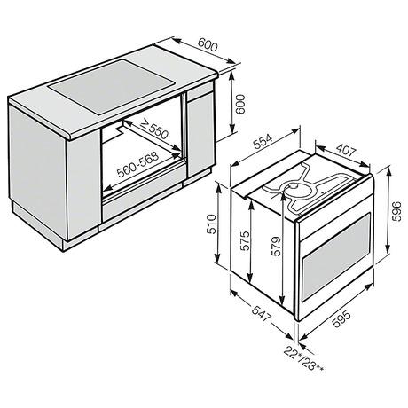 pe ic trouba miele h 2661 1 b. Black Bedroom Furniture Sets. Home Design Ideas