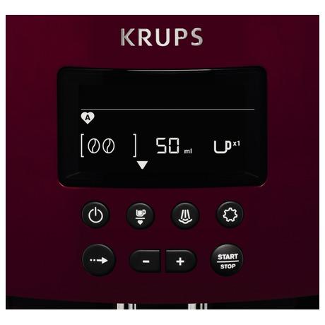 Espresso Krups EA815570 Espresseria auto Pisa Red
