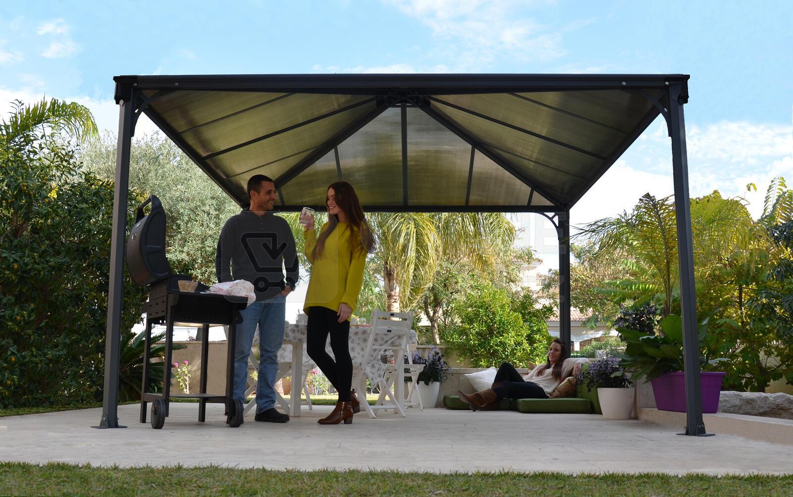 zahradn alt n palram palermo 3600. Black Bedroom Furniture Sets. Home Design Ideas