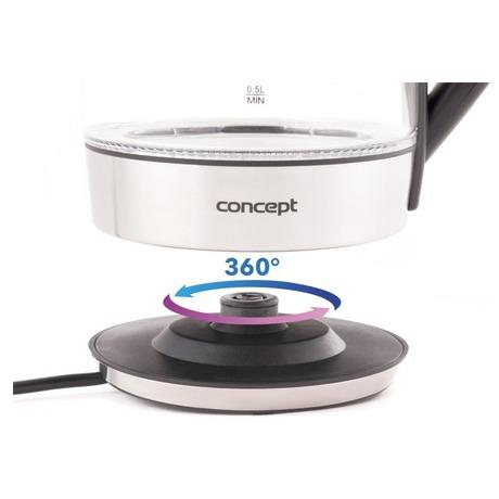 Concept RK4060 Rychlovarná konvice skleněná 1,8 l s nastavením teplot (foto 6)