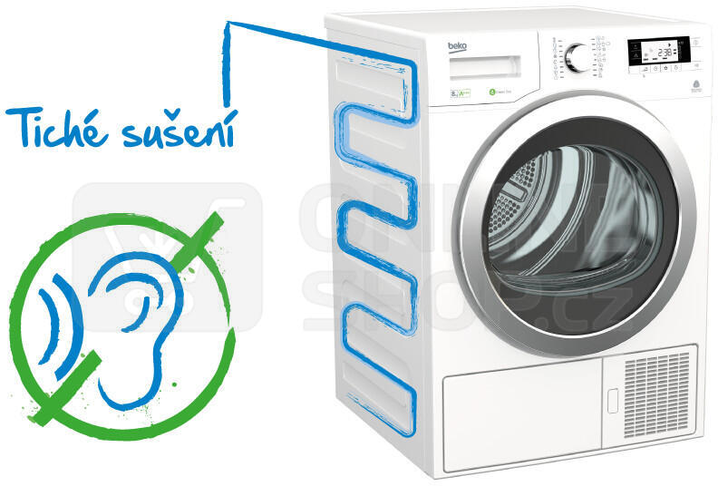 Sušička prádla BEKO DS 7433 CS RX kondenzační