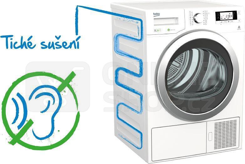 Sušička prádla BEKO DS 7434 CSRX kondenzační