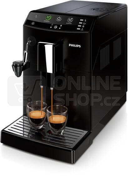 recenze philips hd8824 09 series 3000 espresso hodnocen. Black Bedroom Furniture Sets. Home Design Ideas