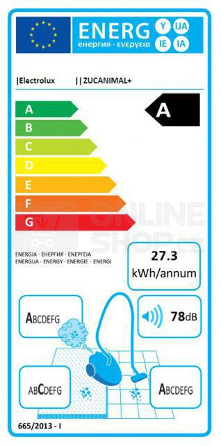 Vysavač Electrolux ZUCANIMAL+ ULTRACAPTIC