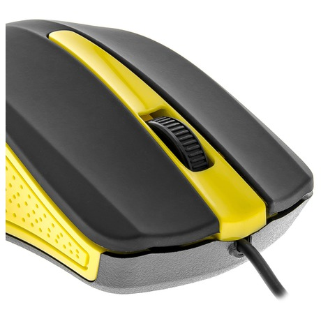 Počítačová myš Yenkee YMS 1015YW USB Suva žlutá