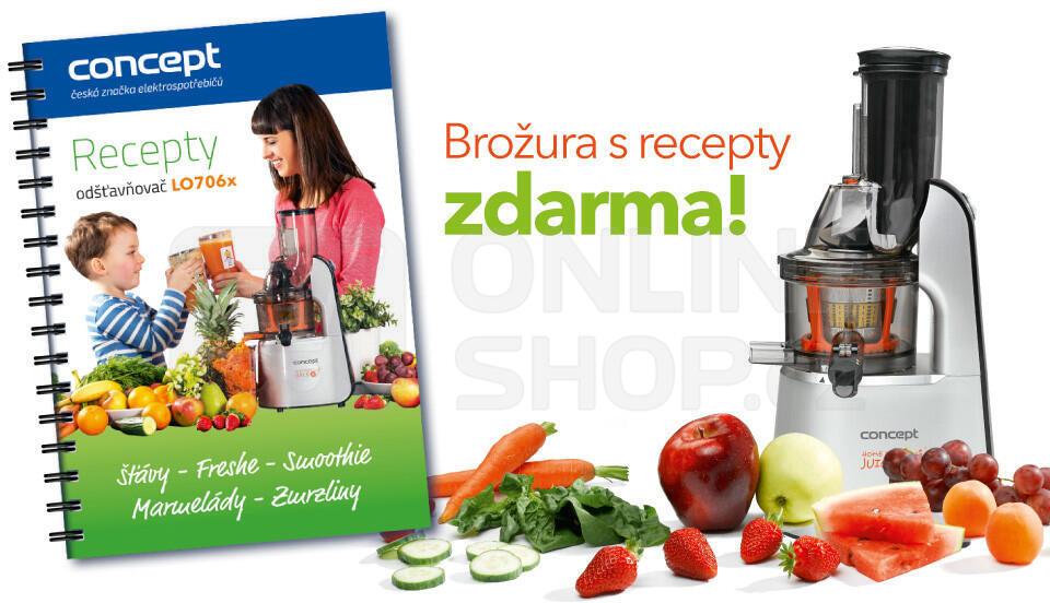 Concept LO7065 Lis na ovoce a zeleninu Home Made Juice SINFONIA