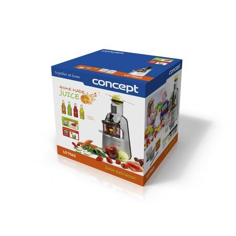 Odšťavňovač šnekový Concept LO-7065 Home Made Juice - Concept LO7065 Lis na ovoce a zeleninu Home Made Juice SINFONIA (foto 11)