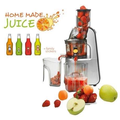 Odšťavňovač šnekový Concept LO-7065 Home Made Juice - Concept LO7065 Lis na ovoce a zeleninu Home Made Juice SINFONIA (foto 3)