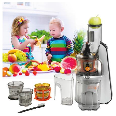 Odšťavňovač šnekový Concept LO-7065 Home Made Juice - Concept LO7065 Lis na ovoce a zeleninu Home Made Juice SINFONIA (foto 2)