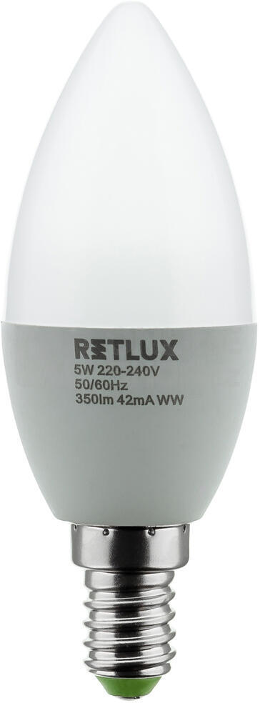 REL 6 LED C37 2x5W E14 Retlux