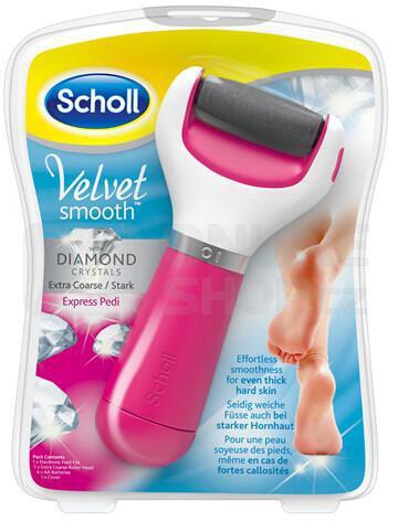 Elektrický pilník na chodidla Scholl Velvet Smooth Diamond