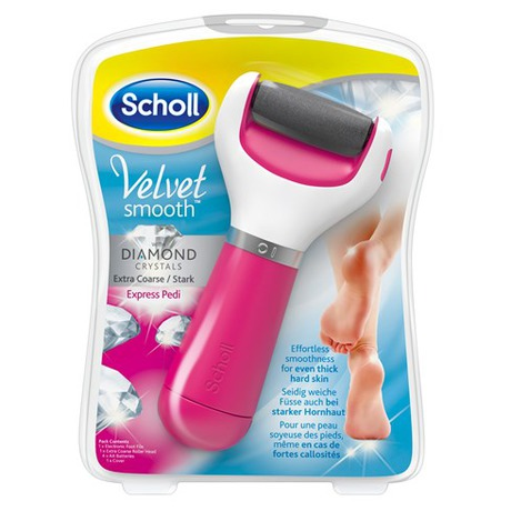 Elektrický pilník na chodidla Scholl Velvet Smooth Diamond - Scholl Velvet Smooth Diamond (foto 2)