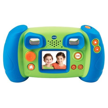 Kidizoom Kid Connect Fotoaparát - modrý Vtech plast 14cm na baterie na kartě (foto 1)