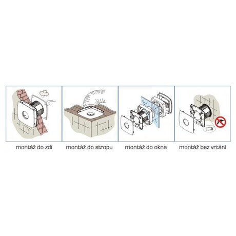 Cata Axiální ventilátor Cata X-MART 12 T (foto 7)