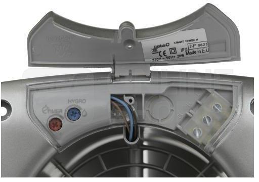 Axiální ventilátor Cata X-MART 12 H INOX