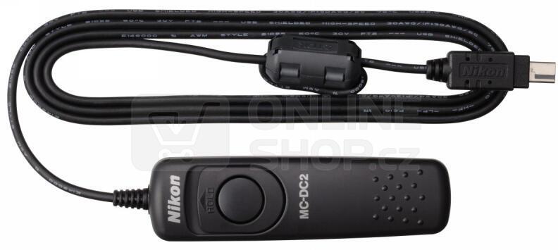Kabelová spoušť Nikon MC-DC2 pro D800/D90/D5100/D3100