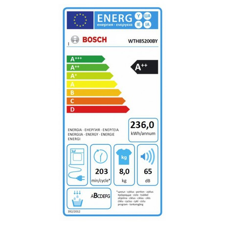 Bosch WTH85200BY kondenzační (foto 5)