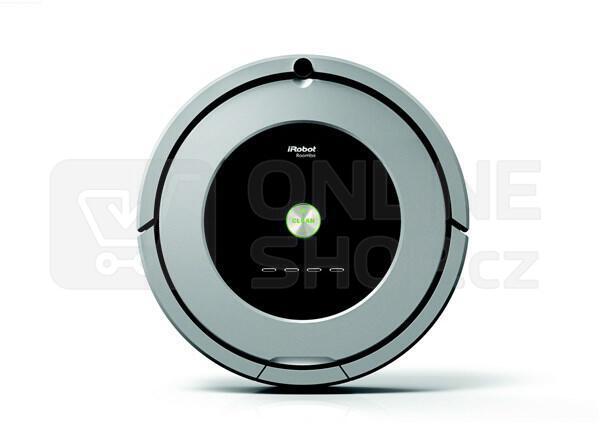 Set robotický vysavač iRobot Roomba 886 + robotický mop iRobot Braava 390