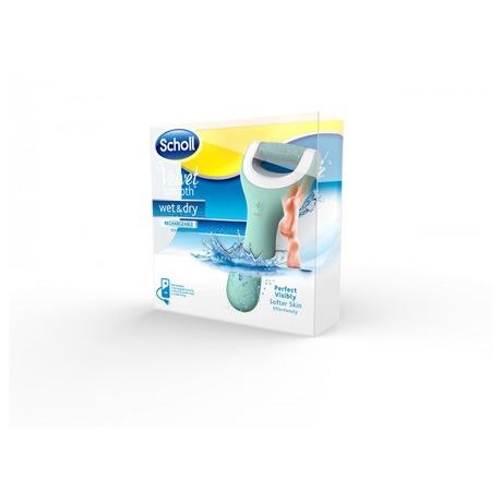 Elektrický pilník na chodidla Scholl Velvet Smooth Wet & Dry - Scholl Velvet Smooth Wet & Dry (foto 1)