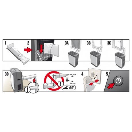 Klimatizace Midea/Comfee MPD1-09CRN1 mobilní, - Klimatizace Midea/Comfee MPD1-09CRN1 mobilní (foto 12)