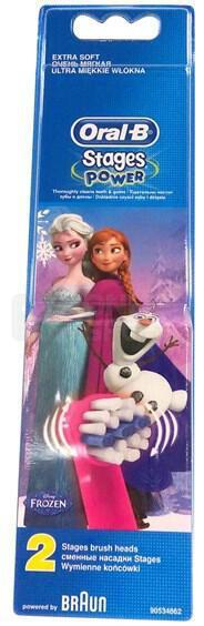 Náhradní kartáček Oral-B EB 10-2 Kids Frozen