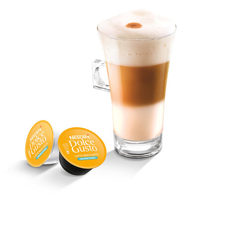 NESCAFÉ® Dolce Gusto® Latte Macchiato bez cukru kávové kapsle 16ks (foto 1)