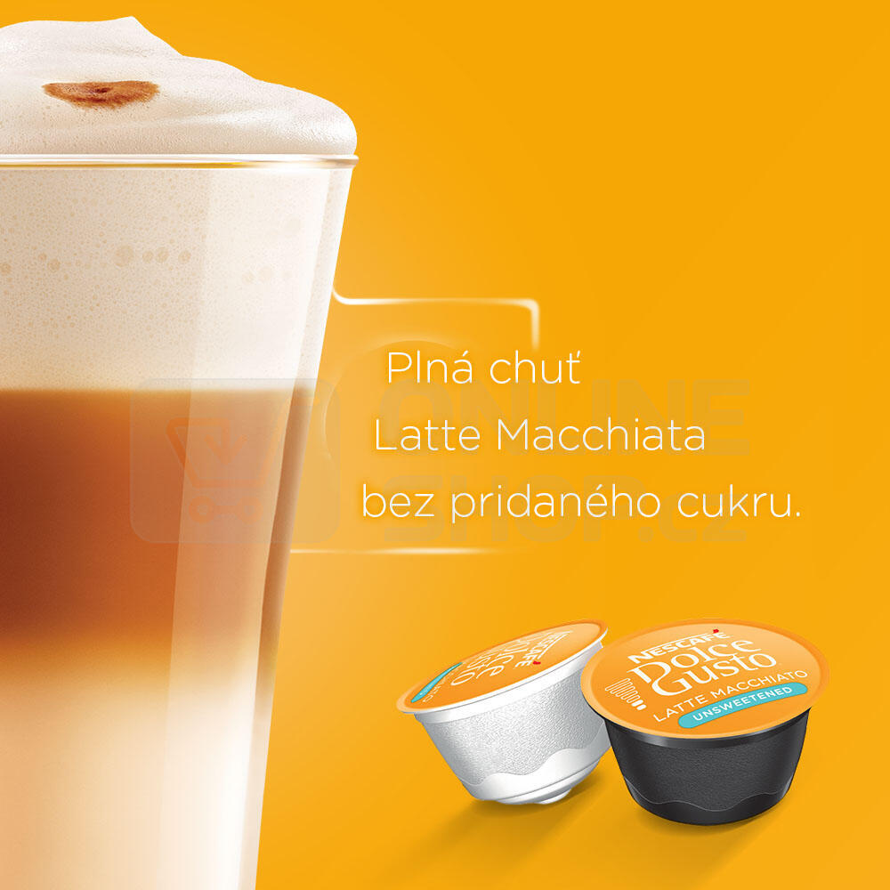 NESCAFÉ® Dolce Gusto® Latte Macchiato bez cukru kávové kapsle 16 ks